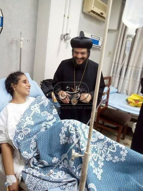 """""""وطني"""" تنشر صورة السيدة التي تم طعنها عقب خروجها من الصلاة  بالإسكندرية"""