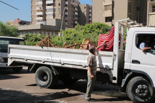 محافظ القاهرة يتفقد منطقة التبة بحي شرق مدينة نصر