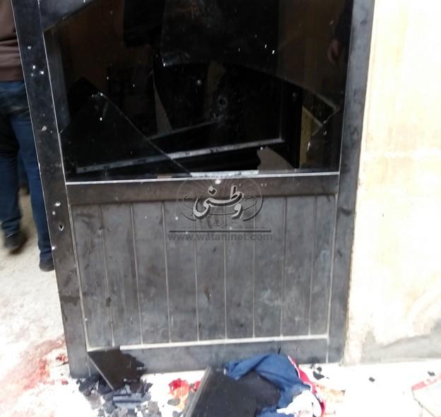 شاهد عيان في في هجوم كنيسة حلوان