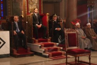 محافظ القاهرة يشارك الروم الأرثوذكس احتفالات عيد الميلاد المجيد