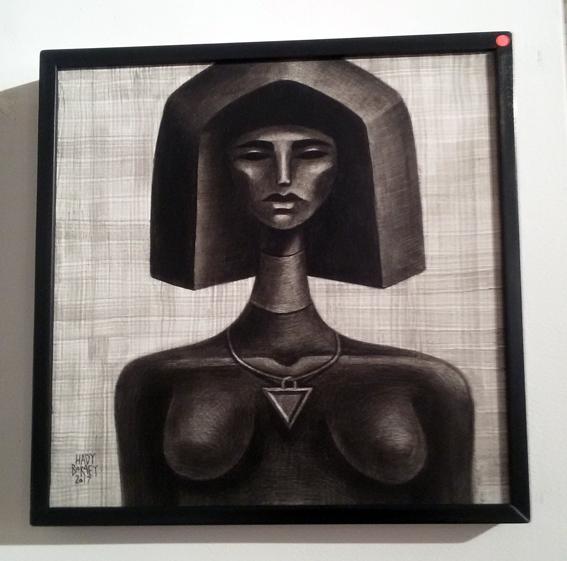 الأمل رحلة إلى الحياة في معرض الفنان هادي برعي