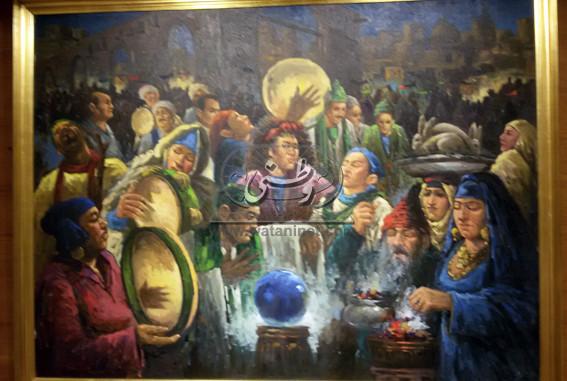 """الفنان طه قرني يفتتح """"الزار"""" في بيكاسو"""