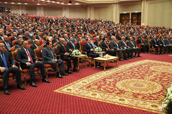 """نص كلمة الرئيس """"السيسى"""" خلال المؤتمر القومى للبحث العلمي"""