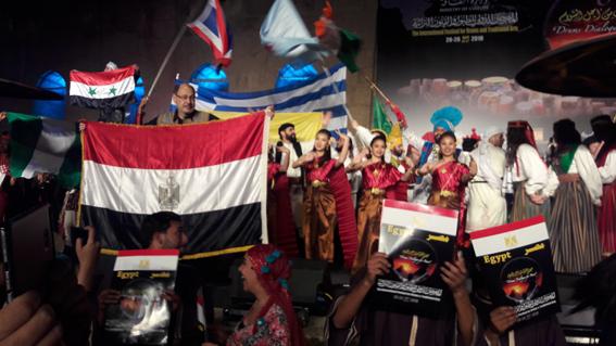 فى أعياد تحرير سيناء:ختام أسطورى للطبول من أجل السلام