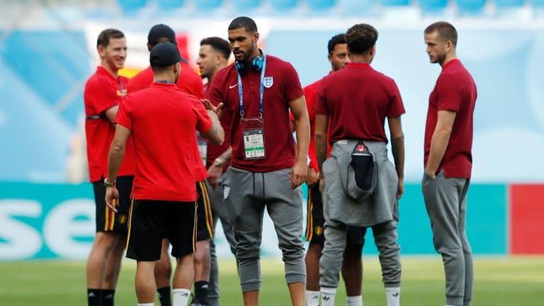 بدء مباراة رد الأعتبار بين إنجلترا وبلجيكا