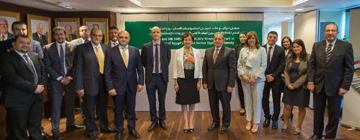 """البنك الأهلي يوقع مع """"الاستثمار الأوروبي"""" اتفاقية لتمويل المشروعات الصغيرة والمتوسطة بـ ٣٧٥ مليون يورو"""