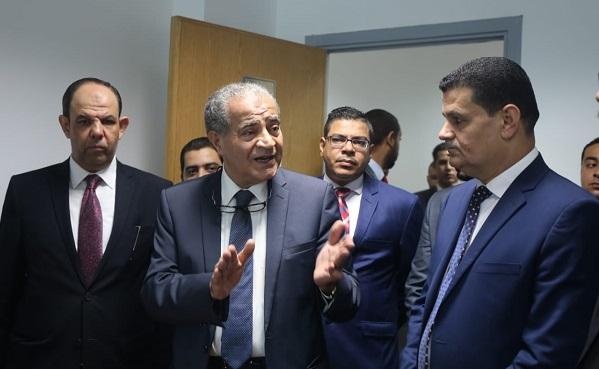 """وزير التموين يشارك فى ختام فعاليات مبادرة """" أسبوع فى حب الوطن """""""