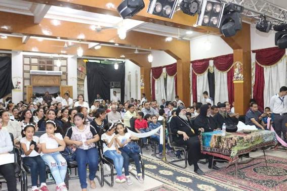 إيبارشية الشرقية تحتفل بمئوية مدارس الأحد