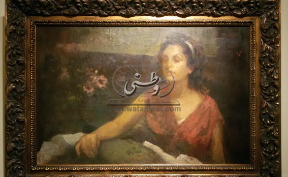 افتتاح معرض استيعادي للفنان الراحل صبري راغب