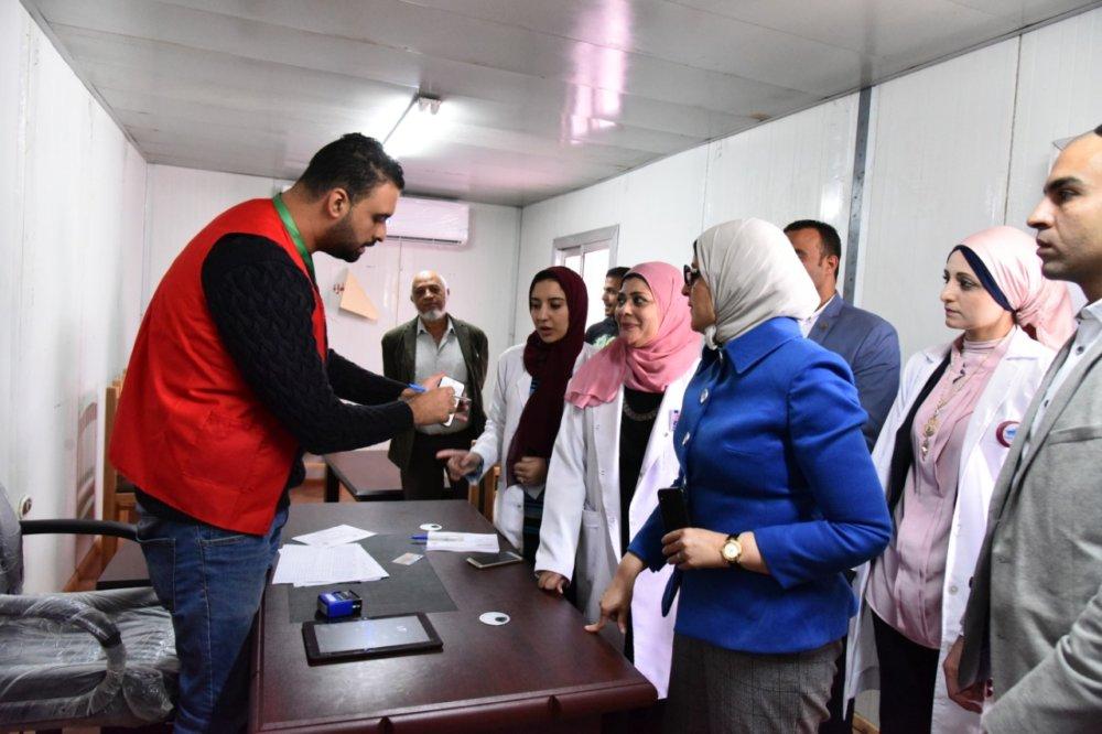 """وزيرة الصحة تُطلق """"100 مليون صحة"""" في 11 محافظة من """"قناة السويس"""""""