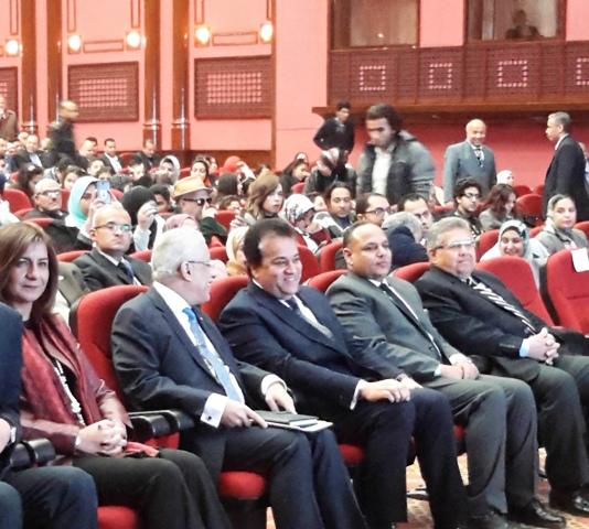 وزير التعليم العالي والبحث العلمي يفتتح فعاليات المؤتمر القومي الأول لجامعة الطفل