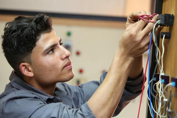 """الدور قبل النهائي لمسابقة مهارات شباب مصر بـ""""الأكاديمية العربية"""