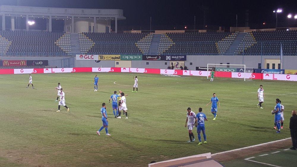 بالصور بدء مباراة نجوم Fc والزمالك في الدوري