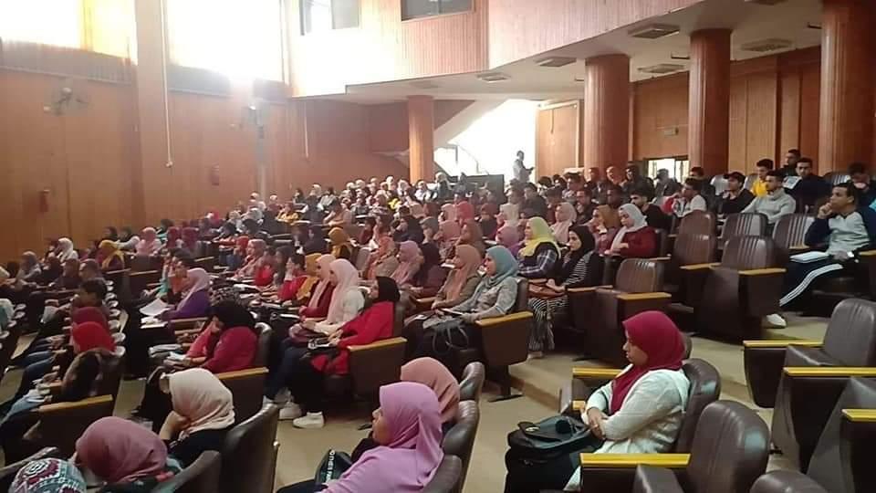 """""""200 طالب"""" يشاركون في  """"ريادة الأعمال وثقافة السلامة"""" بالإسماعيلية"""