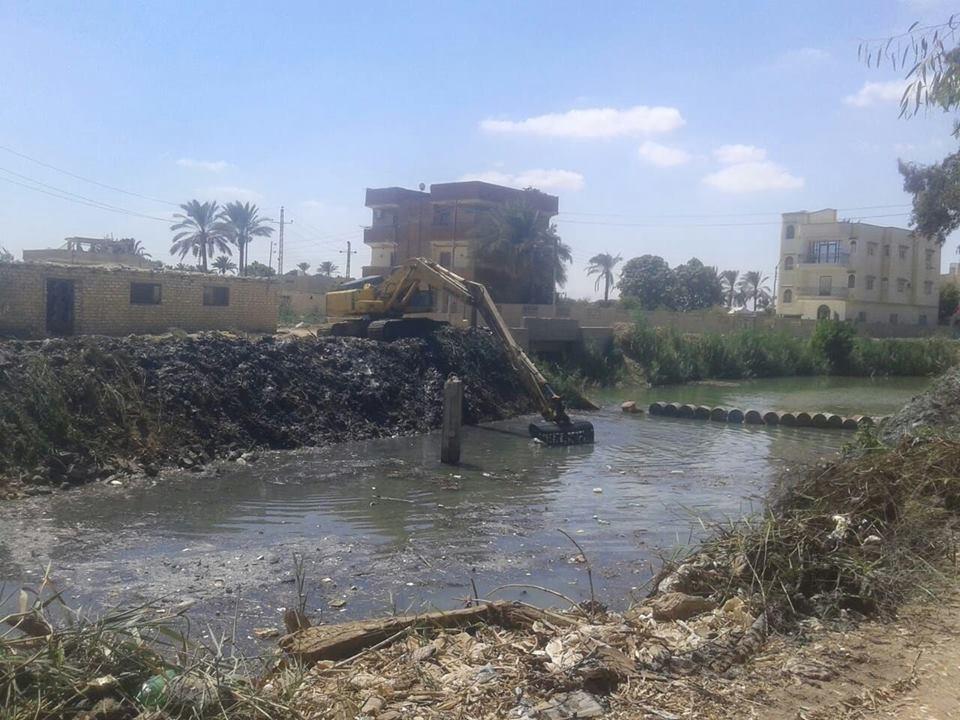 1,753 مليار جنيه مشروعات الهيئة المصرية العامة لمشروعات الصرف خلال  2018