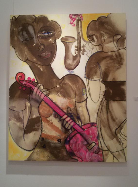 """٣٠ عمل فني يجسد """"إيحاءات اللون الوردي"""" للفنان فرغلي عبد الحفيظ"""