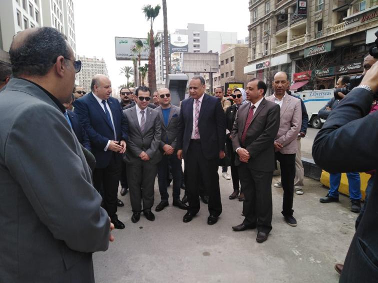 افتتاح مشروع تطوير ميدان علي بن أبي طالب بسموحة
