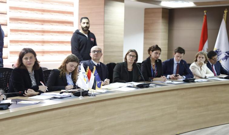 بالصور .. احتفال القومي للمرأة بشراكته مع الاتحاد الأوروبي