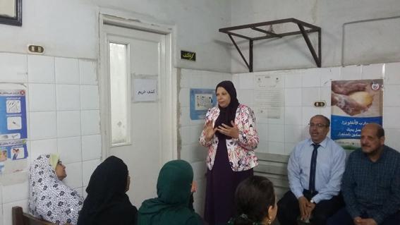 """أهمية الصحة الانجابية"""" ندوة بغرب الاسكندرية"""""""