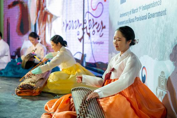 سفارة كوريا الجنوبية تحتفل بذكرى ثورة تحريرها بالقاهرة