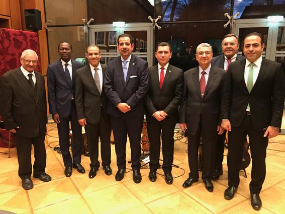 سفير مصر في برلين يستعرض الإنجازات التي حققتها مصر خلال احتفالية بحضور وزير الكهرباء
