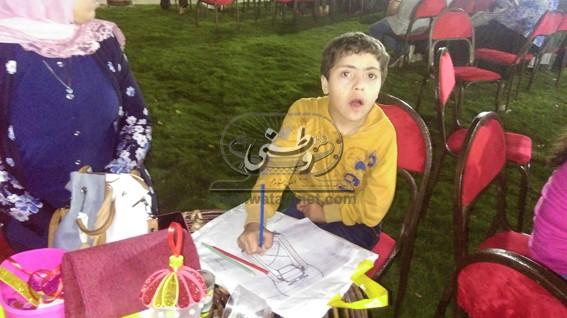 ورش فنية لتدريب الأطفال وذوي الاحتياجات الخاصة بمكتبة دمنهور