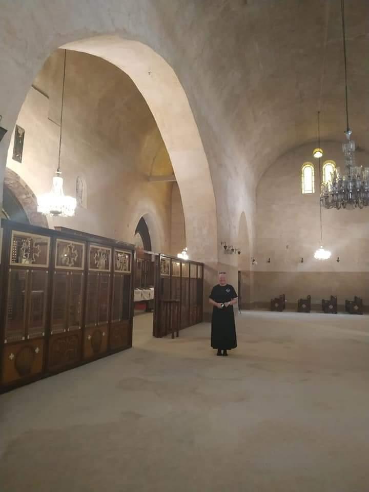 زيارة رئيسة مؤسسة خدمات مكافحة الادمان لكنائس منطقة شرق السكة الحديد