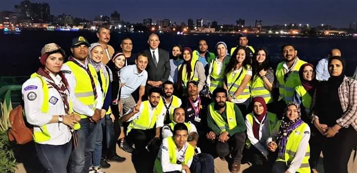 """""""الري"""" و""""شباب بتحب مصر"""" تحتفلان بيوم أفريقيا للحد من استخدام البلاستيك"""