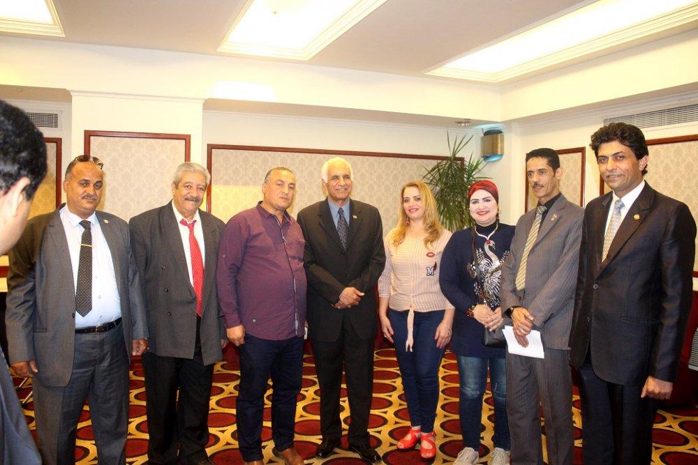 طلعت زايد رئيسا للإتحاد العربى لحماية حقوق الملكية الفكرية