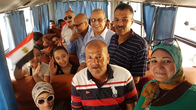 """""""صيفنا مميز """" يطلق أولى رحلاته برواد مراكز الأنشطة الصيفية المجانية ببورسعيد"""