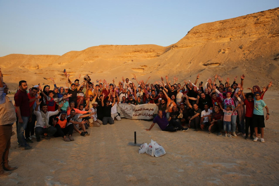 """""""فؤاد"""" تشارك الشباب الإحتفال باليوم العالمي للتنوع البيولوجى بمحمية وادى دجلة"""
