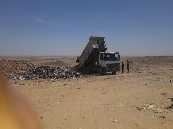 أهالي العبور يشكرون وزارة البيئة لسرعة بحث شكواهم