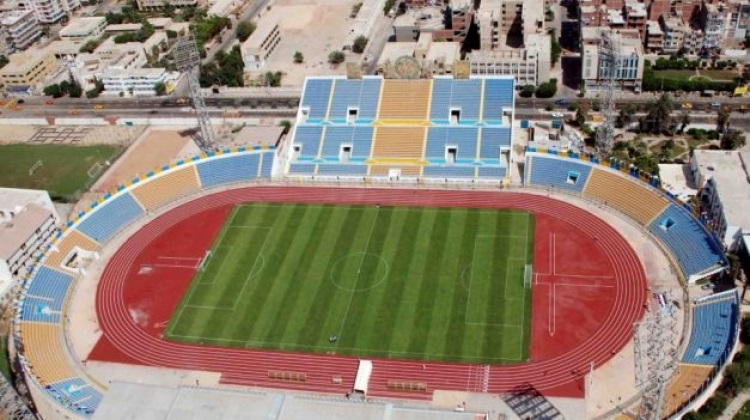 """استاد القاهرة في ثوبه الجديد يستعد لافتتاح """"الكان"""".. والملاعب الأخرى تجهز لفاعليات البطولة"""