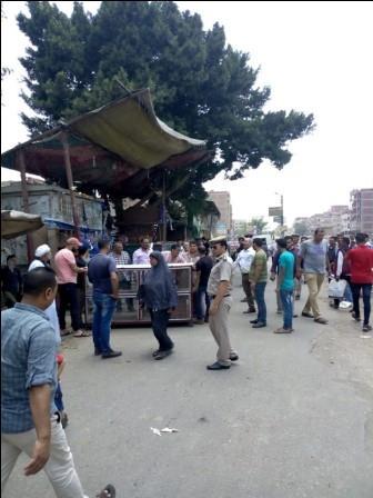 حملة مكبرة لإزالة الإشغالات والاكشاك المخالفة بمدينة شبين القناطر