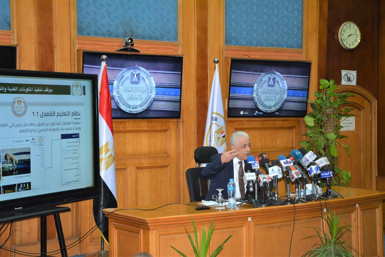 وزير التعليم النظام الجديد هدفه بناء الإنسان المصري ومبنى