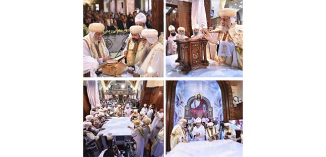 عظة البابا تواضروس الثاني في قداس تدشين كنيسة السيدة العذراء مريم بالوجوه