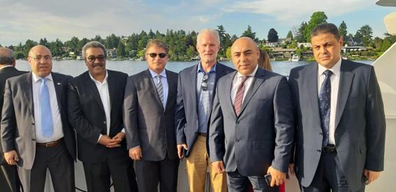 بوينج تحتفل مع وفد مصر للطيران باستلام طائراتها الجديدة
