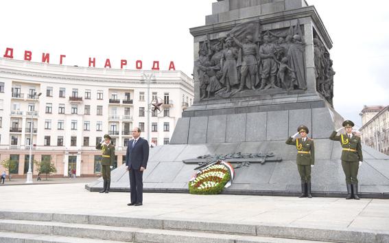الهيئة العامة للاستعلامات: تعاون اقتصادي وتصنيع مشترك في زيارة الرئيس لبيلاروسيا