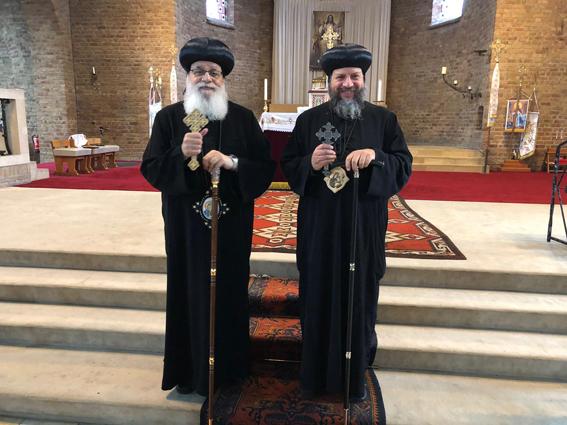 الانبا يوسف يزور إيبارشية هولندا القبطية الأرثوذكسية
