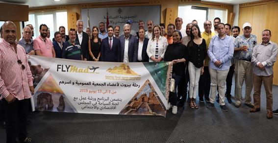 """""""غرفة شركات السفر والسياحة"""" تستحدث نظام التأشيرة الإلكترونية للسفر إلي لبنان"""