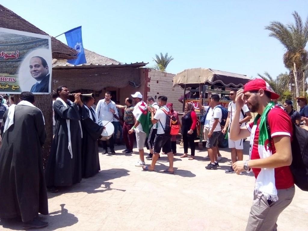 السويس ترحب بالجمهور الجزائري قبل لقاء كوت ديفوار