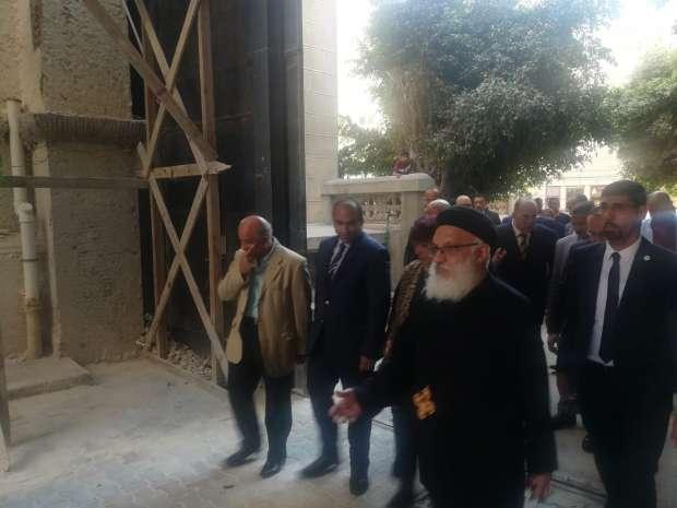 وزيرة الثقافة في أول زيارة للكاتدرائية المرقسية بالإسكندرية وافتتاح المعرض الثالث للكتاب