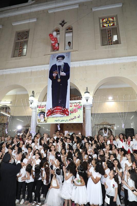 محافظ المنوفية يشهد إحتفالية تجليس نيافة الأنبا بنيامين مطران المنوفية الثالث والأربعون