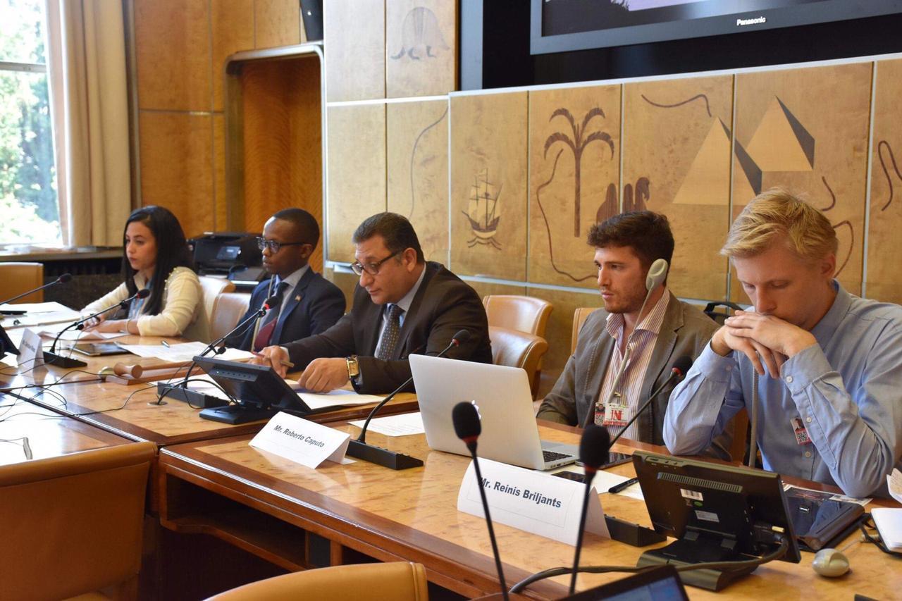 بالصور: إعادة دمج المقاتلين العائدين على طاولة ماعت والبعثة الدولية في مجلس حقوق الإنسان