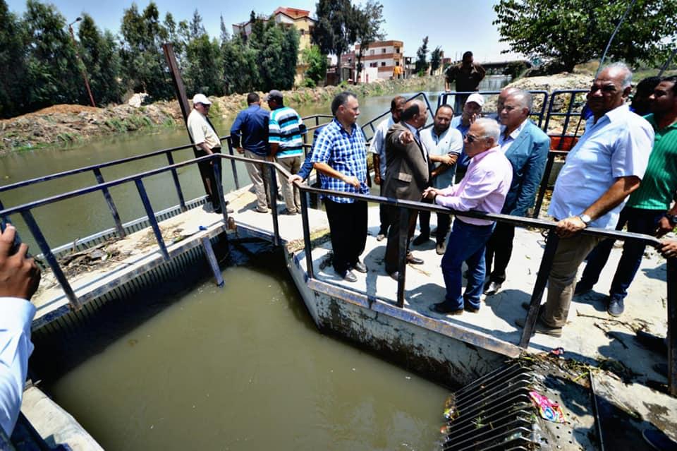 وزير الموارد المائية يستجيب لطلب محافظ بورسعيد بالحفاظ على منسوب الترعة لمنع تكرار أزمة مياة الشرب