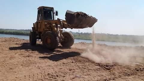 الري تنفذ ٤ قرارات إزالة لتعديات على النيل بأسيوط