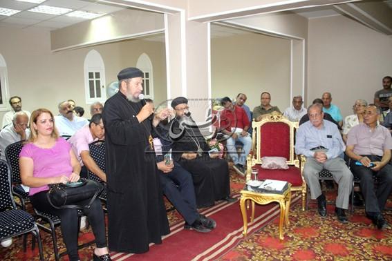أسباب مجئ العائلة المقدسة الى مصر بمركز بى لمباس