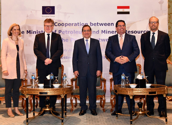 وزير البترول و سفير الاتحاد الأوروبي يشهدان فعاليات ورشة العمل المشتركة في مجال الطاقة