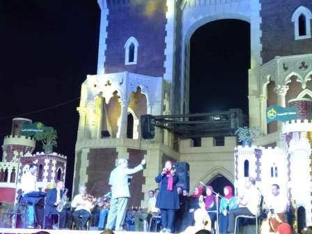 القناطر الخيرية تحتفل بالعيد القومي لمحافظة القليوبية