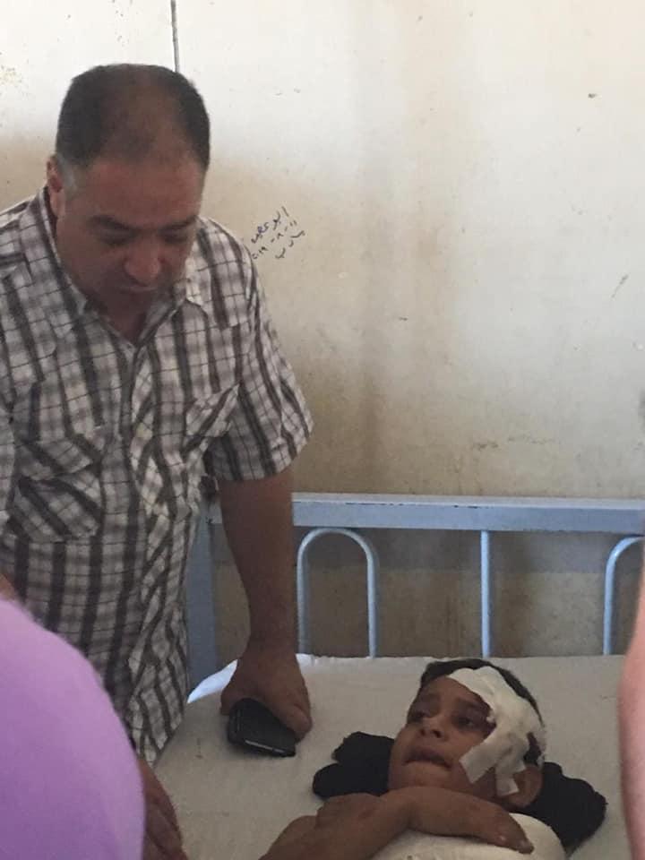 مصرع وإصابة 20 شخص أثناء عودتهم من المقابر ببني سويف